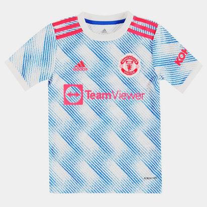 Manchester United Away Shirt 2021 2022 Junior