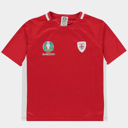 FIFA Euro 2020 England Poly T Shirt Juniors