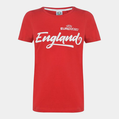 FIFA Euro 2020 England Core T Shirt Ladies