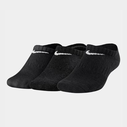 Nike 3 Pack No Show Socks Junior