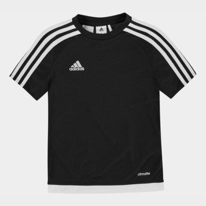 adidas 3 Stripe Sereno T-Shirt Junior Boys