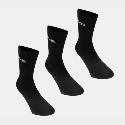 adidas Half Cushioned Crew 3 Pack Socks