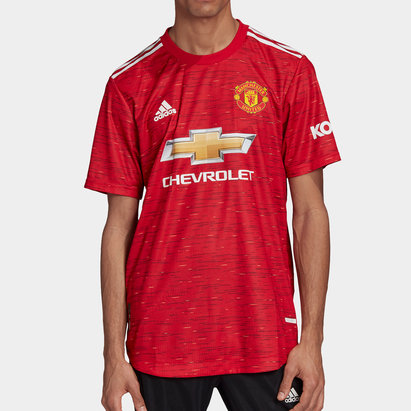 adidas Manchester United Authentic Home Shirt 20/21 Mens