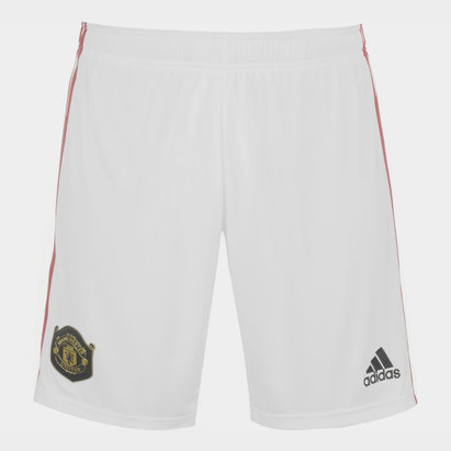 adidas Manchester United 19/20 Home Football Shorts