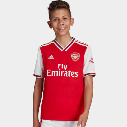 adidas Arsenal 19/20 Kids Home S/S Football Shirt