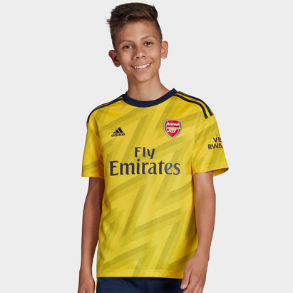 adidas Arsenal 19/20 Kids Away S/S Football Shirt