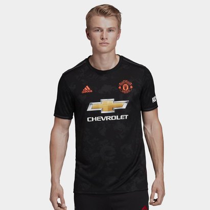 adidas Manchester United 19/20 3rd S/S Football Shirt