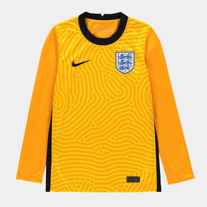 Nike England 2020 Kids Home Goalkeeper Football Shirt
