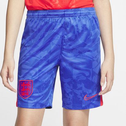 Nike England 2020 Kids Away Football Shorts