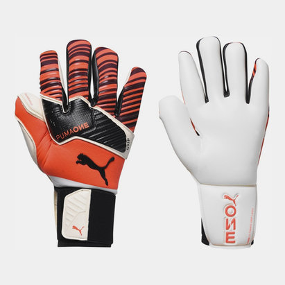Puma One Grip 1 Hybrid Pro Goalkeeper Gloves Mens