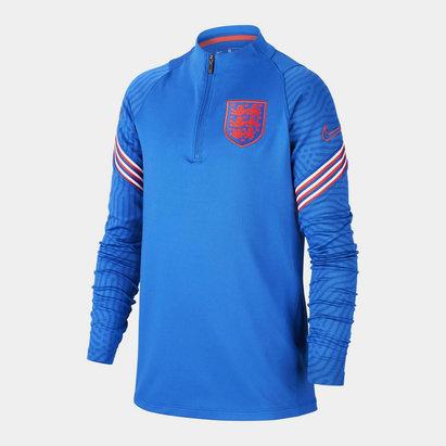 Nike England 2020 Kids Strike Football Drill Top