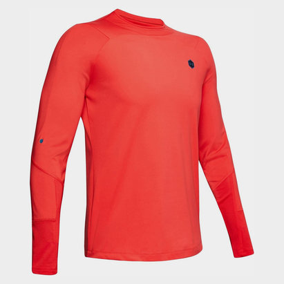 Under Armour CoolGear Rush L/S Mock Neck Top Mens
