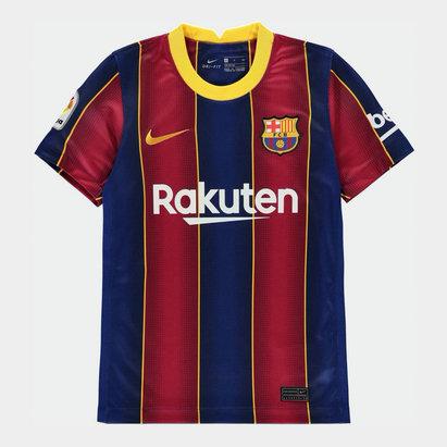 Nike Barcelona Home Shirt 20/21 Junior