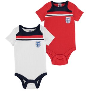 Brecrest England 1982 2 Pack Baby Body Suits
