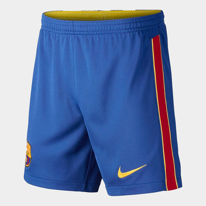 Nike Barcelona Home Shorts 20/21 Junior