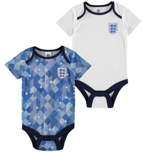 Brecrest England 1990 2 Pack Baby Body Suits