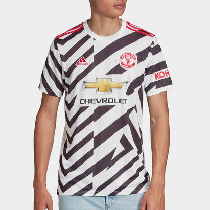 adidas Manchester United Third Shirt 20/21 Mens