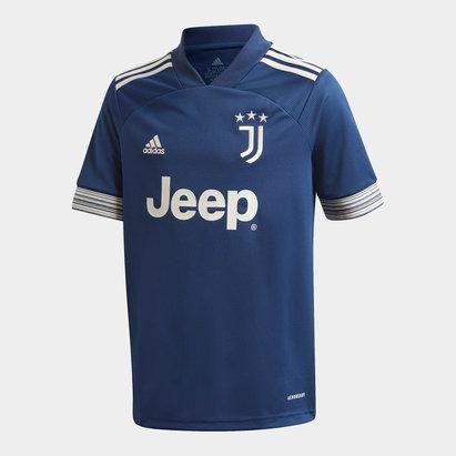 adidas Juventus Away Shirt 20/21 Kids