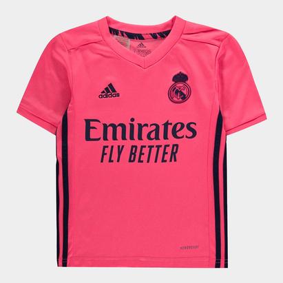 adidas Real Madrid Away Shirt 20/21 Kids