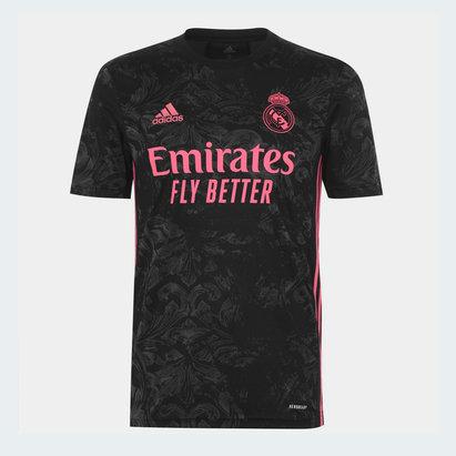 adidas Real Madrid Third Shirt 20/21 Mens