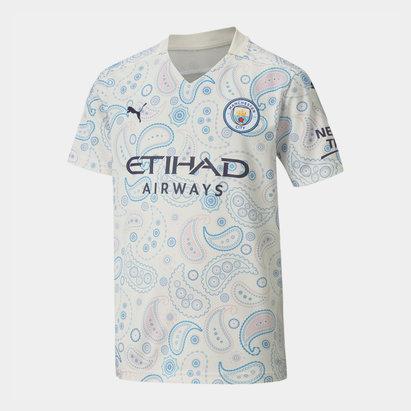Puma Manchester City Third Shirt 2020 2021 Junior