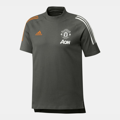 adidas Manchester United T Shirt 20/21 Mens