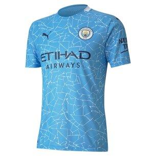 Puma Manchester City Authentic Home Shirt 20/21 Mens