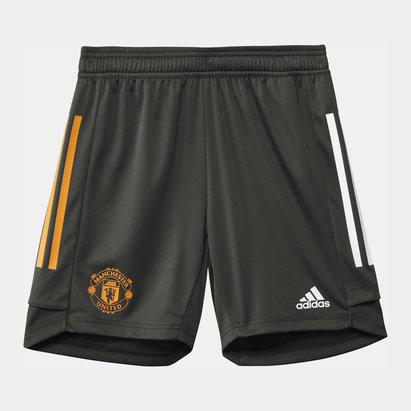 adidas Manchester United Training Shorts 20/21 Junior