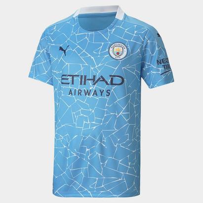 Puma Manchester City Home Shirt 20/21 Junior