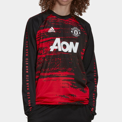 adidas Manchester United Drill Top 20/21 Mens