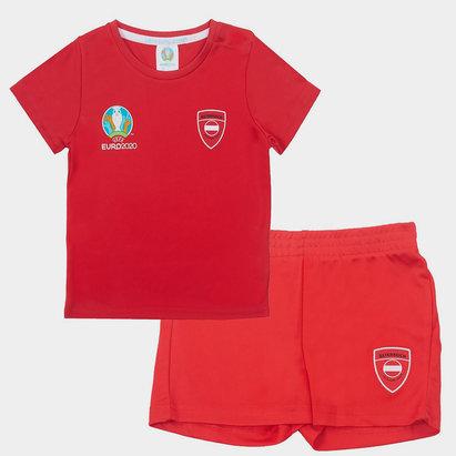 UEFA Euro 2020 Austria Mini Kit Infant Boys