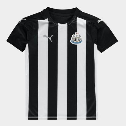 Puma Newcastle United Home Shirt 2020 2021 Junior