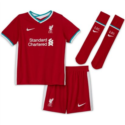 Nike Liverpool Home Mini Kit 20/21
