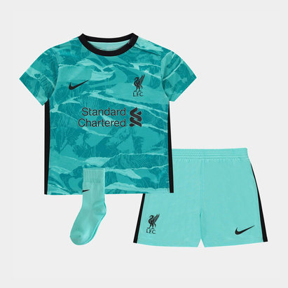 Nike Liverpool Away Baby Kit 20/21