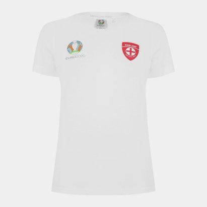 UEFA Euro 2020 England Core T Shirt Ladies