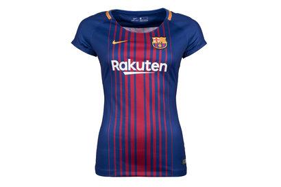 Nike FC Barcelona 17 18 Ladies Home Replica S S Football Jersey. Deep Royal  Blue University Gold 8c571a415