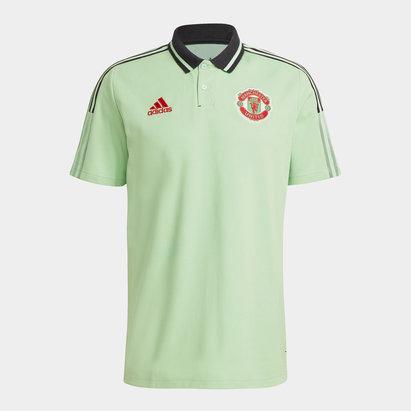 adidas Manchester United Polo Shirt Mens