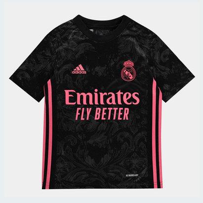 adidas Real Madrid Third Shirt 20/21 Kids