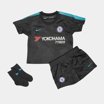 Nike Chelsea FC 17 18 Infant 3rd Football Kit 9baa8e4d7