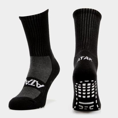 2e992c5418412 Atak Sports Shox Non Slip Mid Leg Grip Socks