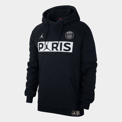 Nike Paris Saint Germain Jumpman Fleece Hoodie Mens