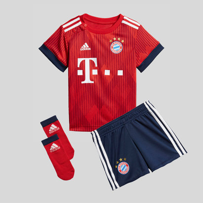 bc67d25d8 adidas Bayern Munich 18 19 Home Infant Replica Football Kit