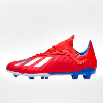adidas X 18.3 Firm Ground Football Boots Mens