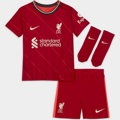 Nike Liverpool Home Baby Kit 2021 2022