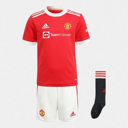 adidas Manchester United Home Mini Kit 2021 2022