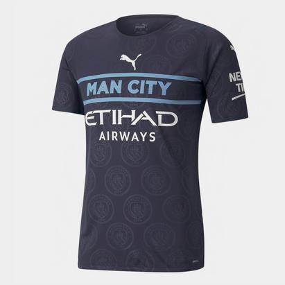 Puma Manchester City Authentic Third Shirt 2021 2022