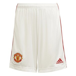 adidas Manchester United Home Shorts 2021 2022 Junior