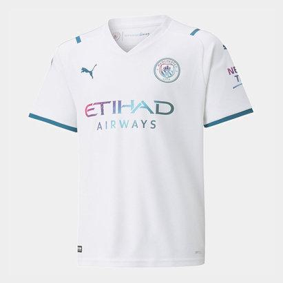 Puma Manchester City Away Shirt 2021 2022 Junior