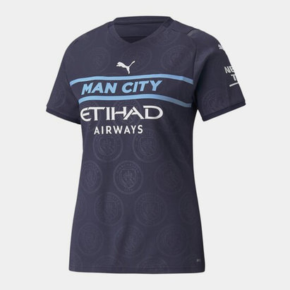 Puma Manchester City Third Shirt 2021 2022 Ladies