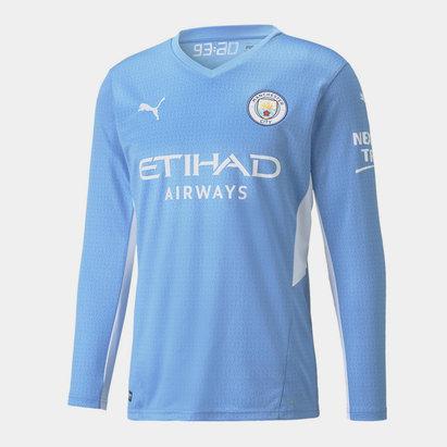 Puma Manchester Home Long Sleeve Home Shirt 2021 2022